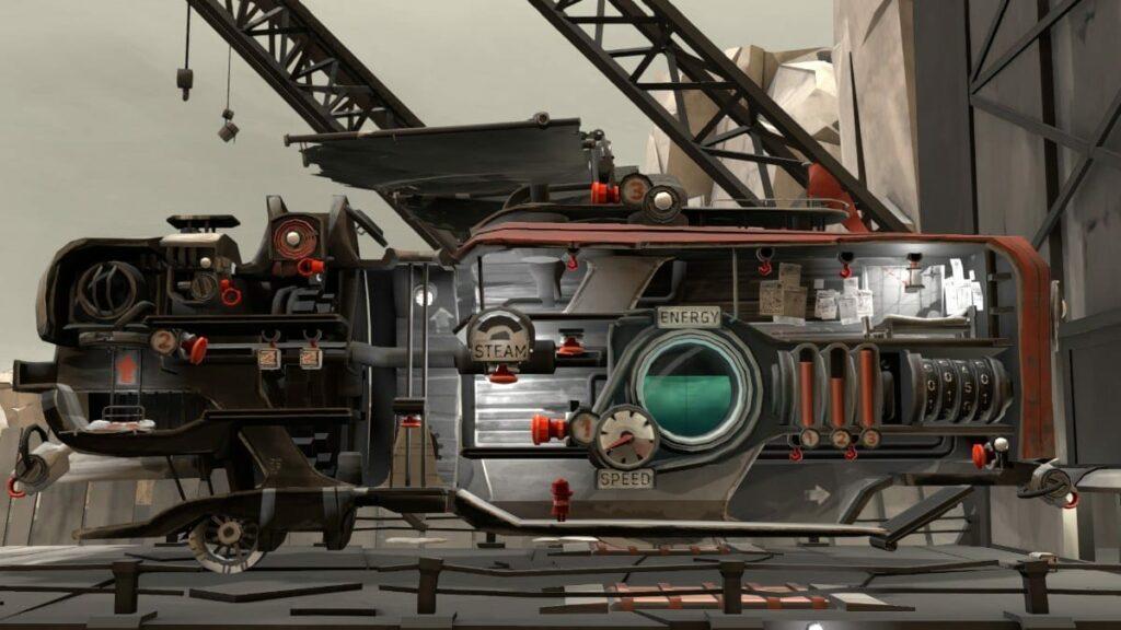 FAR: Lone Sails Steampunk Fahrzeug