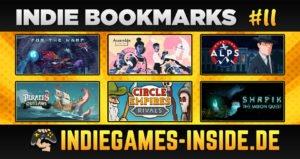 Indie Bookmarks #11