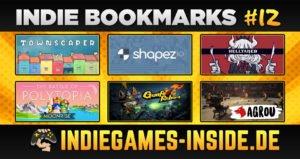 Indie Bookmarks #12