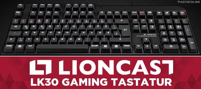 LIONCAST LK 30 Gamingtastatur