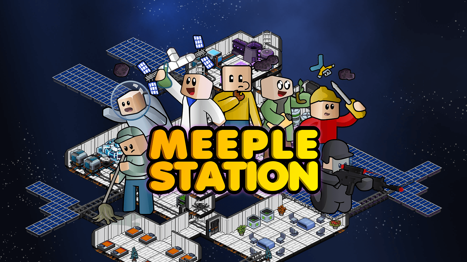 Meeple Station Game