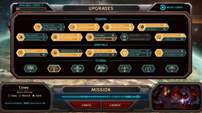 Siege of Centauri Tower Upgrades