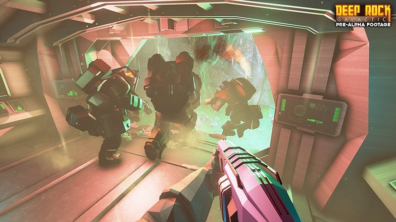 Deep Rock Galactic - Landung in der Höhle
